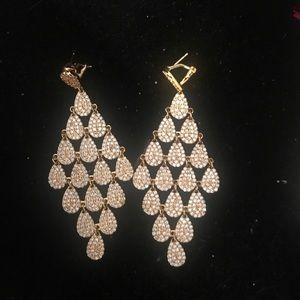 Jewelry - Chandelier Earrings CZ stones